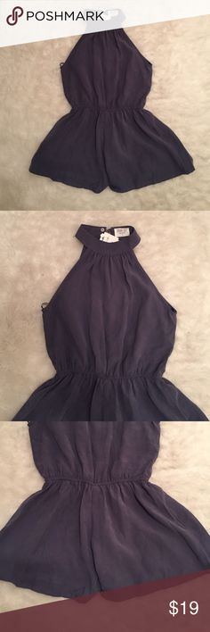 NWT Sienna sky romper Cute romper that buttons at the neck and opens slit down the back.  93% rayon and 7%polyester Other