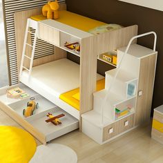 Dillon Bunk Bed - Clever Little Monkey