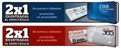 Descuentos especiales clientes Clarín 365 y Club La Nación Cena Show, Personal Care, Sign, Club, Google, Flamenco, Personal Hygiene, Signs