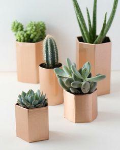 Des pots en cuivre pour vos plantes