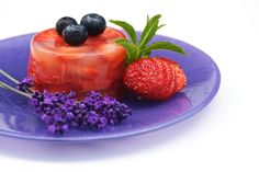 Blueberry and strawberry pudding. Are Superfoods really super?