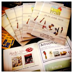 Just received the programmes for the Silverdale & Arnside Art & Craft Traill which includes a prize draw to win £100 worth of original art. They are available to buy in our shop. They also have a our little advert in them, as well as https://www.facebook.com/arteriashop #SAACTrail #artrail #galleries #prizedraw — with Silverdale Arttrail at Studio Arts Crafts and Graphics.