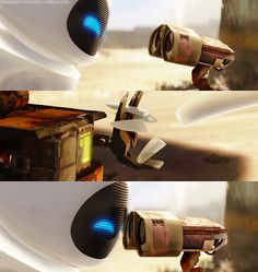 Eve & Walle <3 way better love story than twilight!