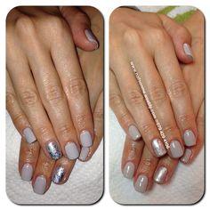 Cityscape Shellac wit silver foils