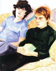 Elizabeth Peyton, Ken and Nick, 2005