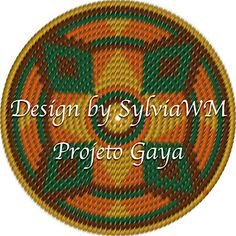 This pattern contains achart to make a circle with tapestry crochet technique. This can be used as the bottom of your Mochila, or you can use it as a frisbee or placemat.