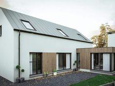 Designpläne 2019 Coleraine House Coleraine Haus - New Ideas Modern Bungalow Exterior, Bungalow House Design, House Designs Ireland, House Ireland, Plans Architecture, Bungalow Renovation, Facade House, House Facades, Modern Homes