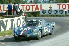 1968 L'Alpine A210 de Nicolas / Andruet.