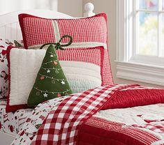 Pottery Barn Holiday Bedding