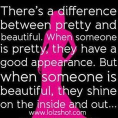 Pretty vs Beauty