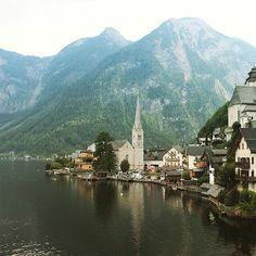 #hallstatt #hallstattlake #salzkammergut #lakeside #unesco #worldheritage…