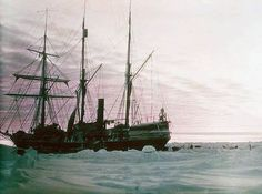 Frank Hurley's famous early colour photographs of Sir Ernest Shackleton's ill-fated 'Endurance' voyage, as part of the British Imperial Trans-Antarctic Expedition, 1914-1917.