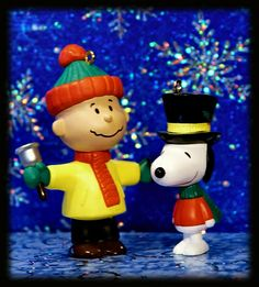 Merry Christmas from Charlie Brown and Snoopy