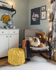 Pinossa.fi | Gender neutral nursery Nursery Neutral, Marimekko, Gender Neutral, Lifestyle Blog, Throw Pillows, Interiors, Bed, Vintage, Home