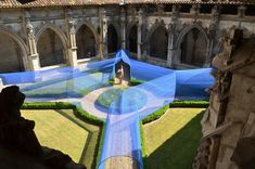 Gallery of Atelier YokYok Designs an Enchanting String Installation in Cahors - 1