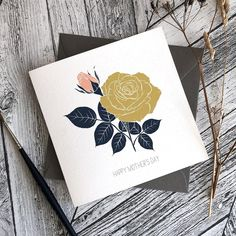 """Sue • Bee Designs on Instagram: """"The new Rose Bouquet is now available as a card in two colour options and with your choice of wording on the front. Perfect for Mother's…"""" Bee Design, Rose Bouquet, Happy Mothers Day, Colour, Words, Instagram, Color, Bouquet Of Roses, Mother's Day"""
