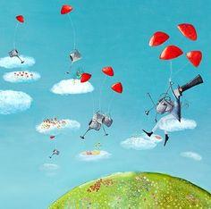 Tableau Le jardinier du ciel Lilipinso