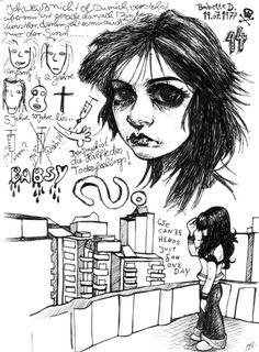 "☢ Babette Döge ""Babsi"" by Niviswinter."