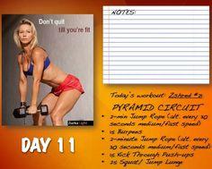 Zuzska day 11 Burpees, Thinspiration, Lunges, Workout Programs, Circuit, Push Up, Kicks, Exercise, Calendar