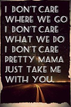 Prince : take me with you.