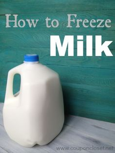 Refrigerated breast milk freeze