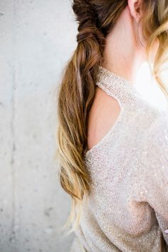 French twisted ponytail: http://www.stylemepretty.com/living/2015/02/24/chic-10-minute-hairstyles-to-try/