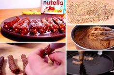 Des churros-cookies au Nutella