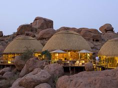 Camp Kipwe in Namibia near Twyfelfontein, a UNESCO World Heritage Site