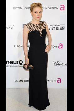 Anna Paquin Elton John AIDS Foundation afterparty
