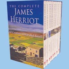 Complete James Herriot Collection 8 Books Boxed Set...collected years ago and still loving them!