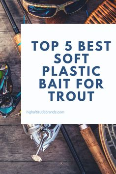 Once you've mastered the skill of catching trout on spinners and spoons, it's time for you to graduate to soft plastics. Although they are harder to use effectively and to master, using soft plastics can be one of the most effective ways to fish for trout. Best Trout Lures, Trout Fishing Tips, Soft Plastic, Best Fishing, Bait, Spoons, Spoon