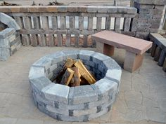 12 Best Pavestone Fire Pits Images Pit Backyard