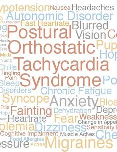Postural Orthostatic Tachycardia Syndrome is. So much more than postural tachycardia! People forget the 'syndrome' part! Chronic Migraines, Chronic Illness, Chronic Pain, Neurocardiogenic Syncope, Autonomic Nervous System, Chiari Malformation, Ehlers Danlos Syndrome, Chronic Fatigue Syndrome, Invisible Illness