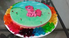 Mi primera gelatina 3d pintada a mano