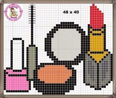 Beginning Cross Stitch Embroidery Tips - Embroidery Patterns Modern Cross Stitch, Cross Stitch Designs, Cross Stitch Patterns, Cross Stitching, Cross Stitch Embroidery, Stitches Makeup, Modele Pixel Art, Seed Bead Crafts, Pix Art