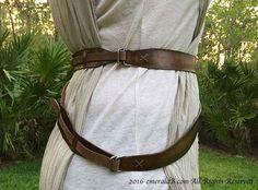 rey costume belt buckles