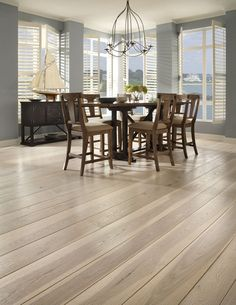 Brushed Hickory Dining Room