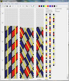 Beaded Crochet Geometric Schemes - Mariam Nahapetyan 14 around