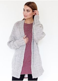 Alison Loose Knit Cardigan
