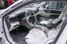 2017 Lincoln Continental interior view