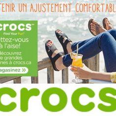 CROCS- Chaussures à rabais pour toute la famille