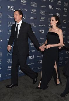 Pin for Later: Brad Pitt and Angelina Jolie Are Back on the Red Carpet — and Beaming