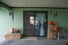 Fall decor, Patio decorating