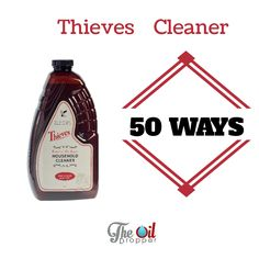 Get Rid Of Toxin 50 uses for this one multi-purpose toxin free cleaner. Get rid of all your other bottles. - 50 uses for this one multi-purpose toxin free cleaner. Get rid of all your other bottles. Essential Oil Cleaner, Thieves Household Cleaner, Thieves Cleaner, Thieves Essential Oil, Essential Oils Cleaning, Essential Oil Uses, Young Living Oils, Young Living Essential Oils, Yl Oils