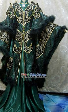 Ancient Chinese Black Empress Costumes