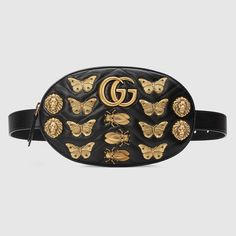 GG Marmont animals studs leather belt bag