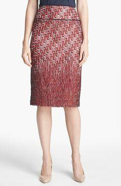 Tory Burch 'Ruby' Jacquard Skirt | Nordstrom $296.98