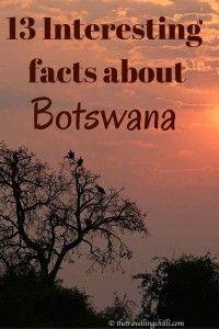 13 interesting facts about Botswana