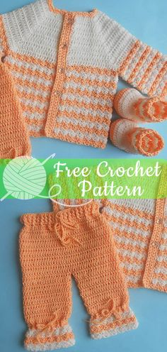38 New Ideas For Crochet Baby Pants Free Pattern Baby Girl Crochet Blanket, Crochet Baby Jacket, Crochet Baby Sweaters, Crochet Baby Blanket Beginner, Crochet Baby Clothes, Baby Knitting, Beginner Crochet, Crochet Baby Dresses, Baby Set