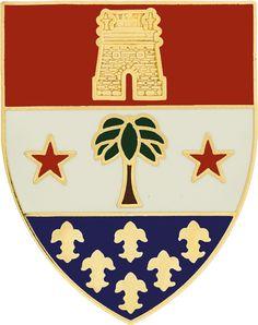 110th Infantry Unit Crest (No Motto)